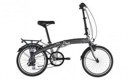 Caloi lança bicicleta dobrável
