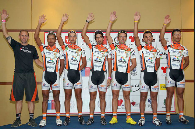 Equipe DataRo Tour de San Luis 2012
