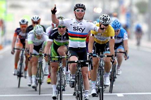Cavendish Etapa 4 Volta de Catar 2012
