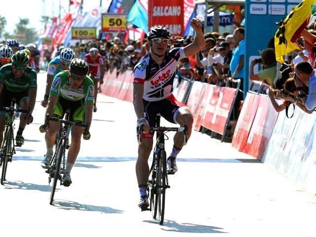 Andre Greipel - Chegada etapa 2