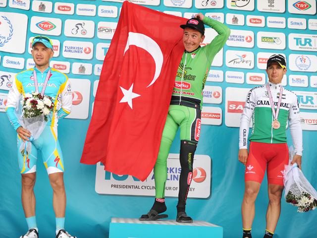 Pódio etapa 3 Volta da Turquia 2012