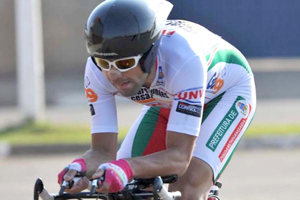 Magno Prado vai disputar prova de ciclismo em Londres
