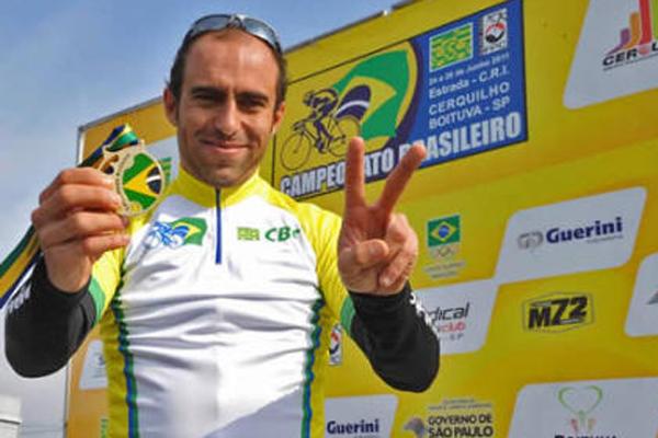 Murilo Fischer integra seleção brasileira de ciclismo de estrada
