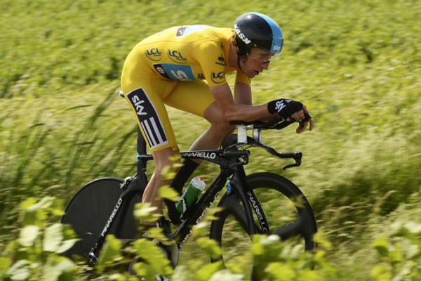 Bradley Wiggins no Tour de France 2012