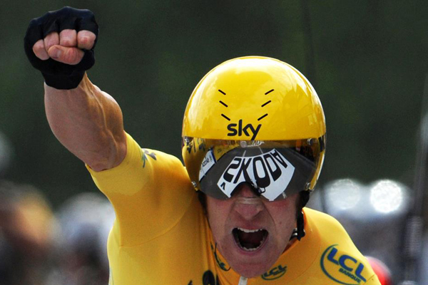 Bradley Wiggins vence 19ª etapa do Tour de France 2012