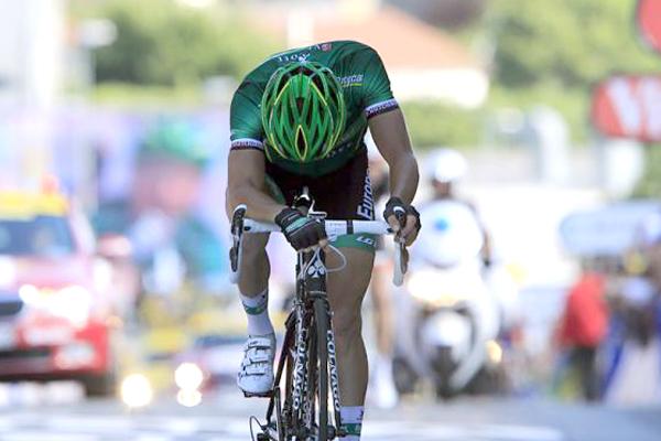 Ciclista Thomas Voeckler