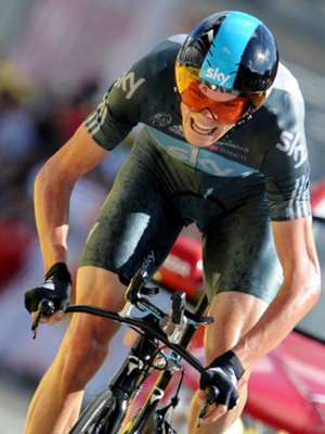 Christopher Froome no Tour de France 2012