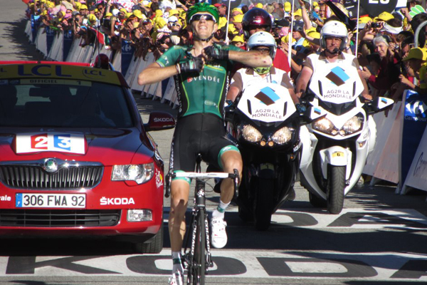 Pierre Rolland vence a 11ª etapa do Tour de France 2012