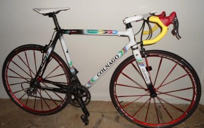 A Colnago C50 edição World Champion Limited