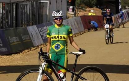 Raiza Goulão fica em 11º no XCO Sub 23 do Mundial de MTB