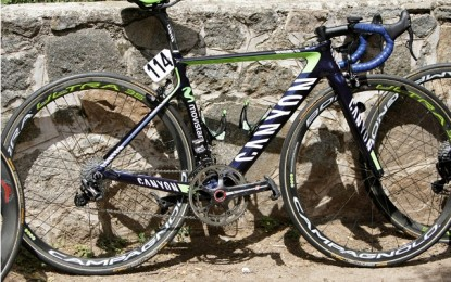 A Canyon de Nairo Quintana: as novas bikes da equipe Movistar