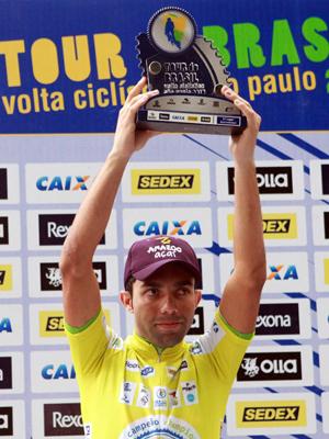 Magno Nazaret: bicampeão do Tour do Brasil/Volta de SP Foto: Sérgio Shibuya