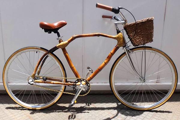 Artesanais sob medida - Bike de Bambu - Klaus Volkmann