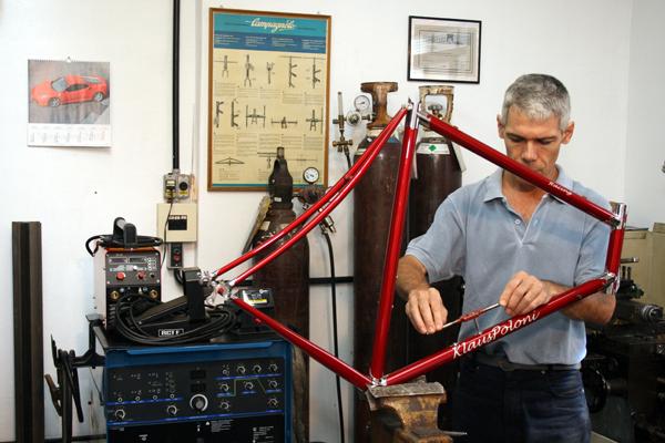 Bicicletas artesanais - Klaus Poloni