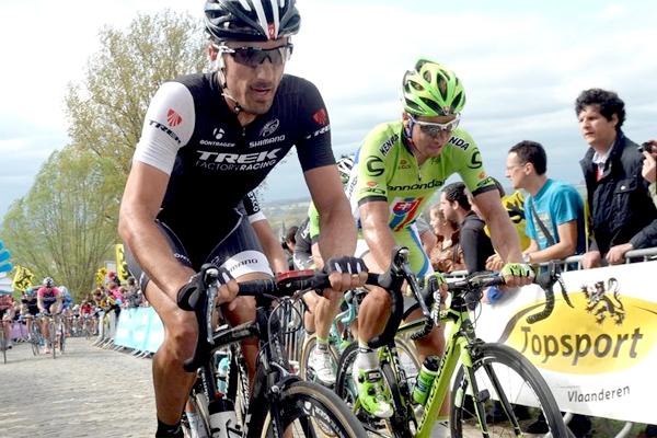 Cancellara e Sagan no Tour de Flanders