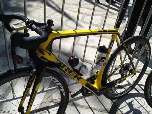Bike do sul-africano Johann Van Zyl, da MTB-Qhubeka