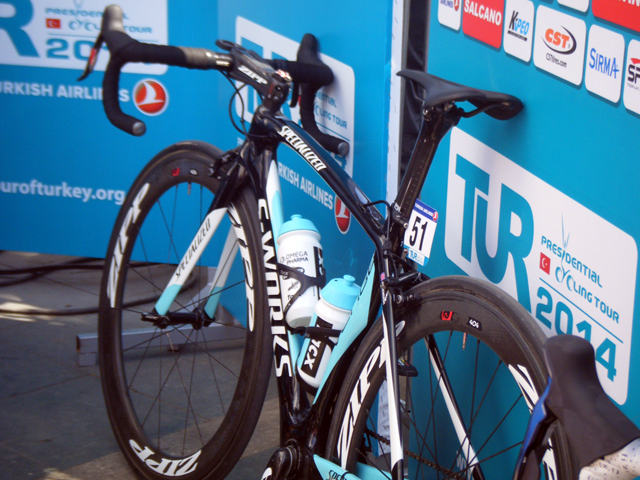 A bike de Mark Cavendish, que venceu as duas primeiras etapas