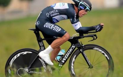 Uran vence contrarrelógio e conquista liderança do Giro D'Itália