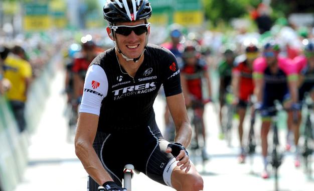 Andy Schleck no Tour da Suíça, na semana passada
