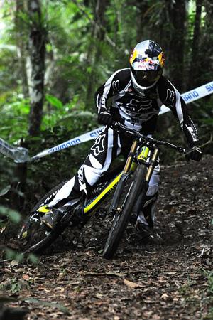 O biker Bernardo Cruz
