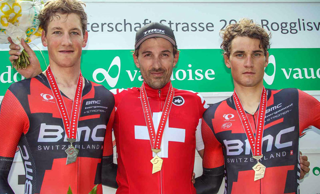 Cancellara é o mais rápido no contrarrelógio do Campeonato Suíço