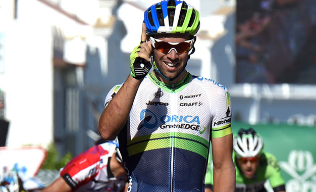 Michael Matthews vence 3ª etapa e é o novo líder da Vuelta