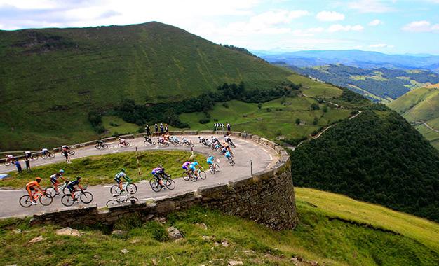 No percurso da 13ª etapa, entre Belorado e Obregón