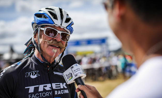 Gary Fisher participou da última etapa Foto: Fabio Piva