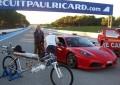 Francês é mais rápido que Ferrari e atinge 333 km/h com bike-foguete