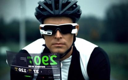 George Hincapie é garoto-propaganda de óculos do Robocop f70ccd0704