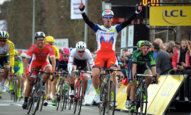 Chegada da 1ª etapa da Paris-Nice