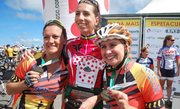 Vencedoras da categoria MTB