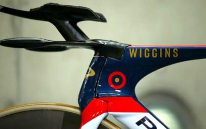A bike de Bradley Wiggins para o recorde da hora