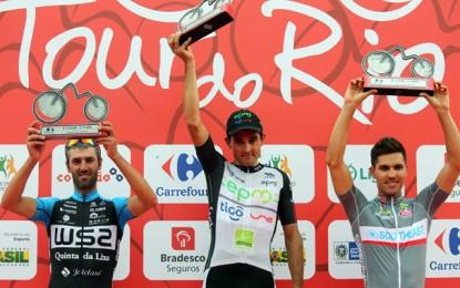 Tour do Rio: Veloso vence, mas é punido e Sevilla é o líder