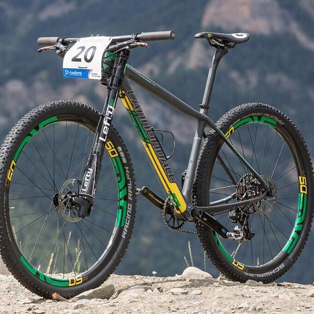 Bike personalizada de Henrique Avancini
