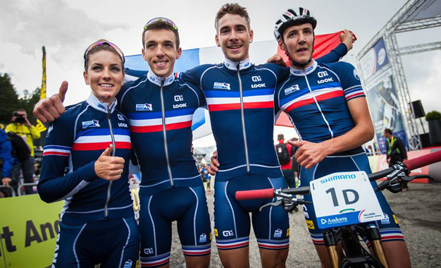 Equipe francesa é ouro no team relay pelo segundo ano seguido