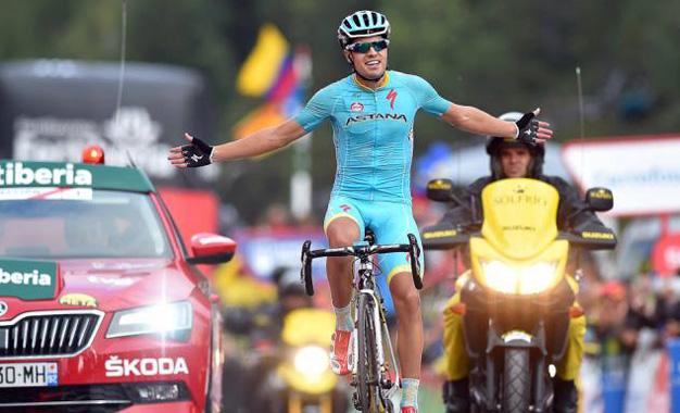 Mikel Landa conquista a etapa rainha da Volta a Espanha