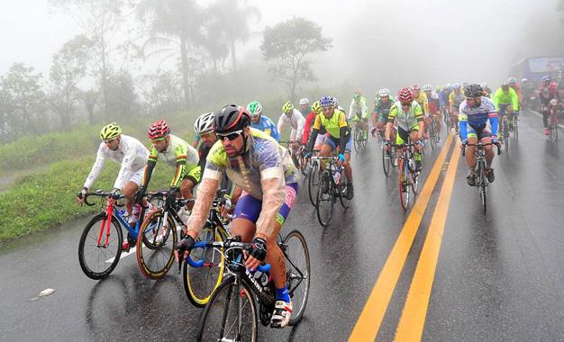Neblina no percurso da Volta do ABCD 2015