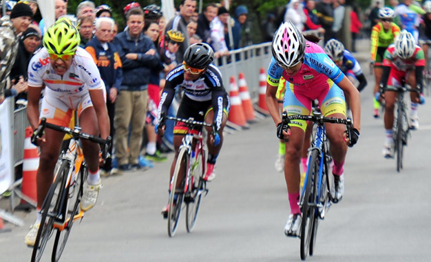 Chegada da Elite feminino, com vitória de Luciene Ferreira