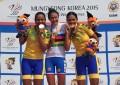 Jogos Militares: irmãs Fernandes são prata e bronze; Brasil é ouro por equipes