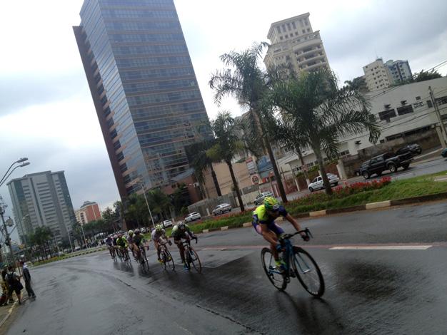 No GP Campinas de Ciclismo Foto: Marcos Adami