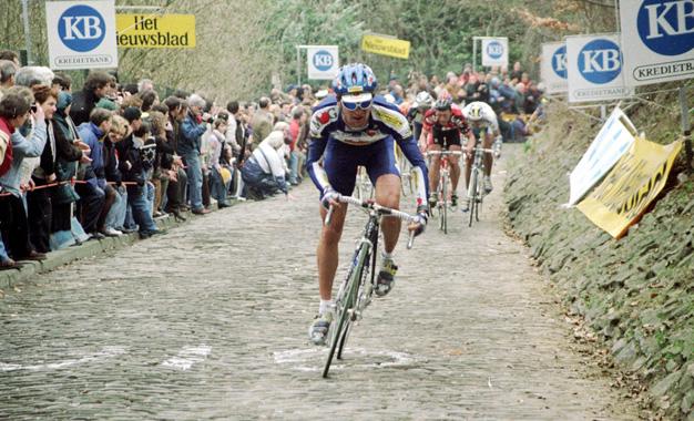 Michele Bartoli no Tour de Flanders de 1996