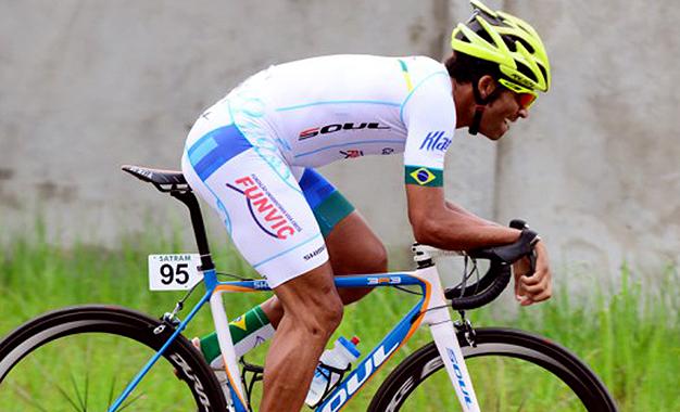 Flávio Santos fez o 6º melhor tempo no contrarrelógio no Gabão