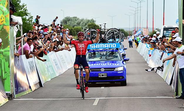 Koning na vitória solo da 3ª etapa do Tour de San Luis