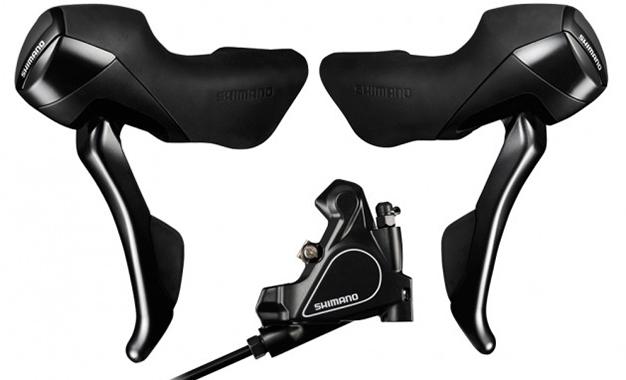 Shimano apresenta ao mercado uma nova potência de frenagem com freios a disco hidráulicos do nível Tiagra