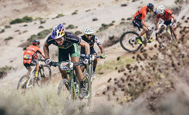 Avancini e Fumic na última etapa Foto: Ewald Sadie/Cape Epic/Sportzpics