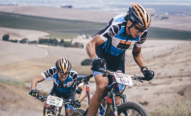 Brentjens e Abraão Azevedo confirmam tetra na Máster Foto: Ewald Sadie/Cape Epic/Sportzpics