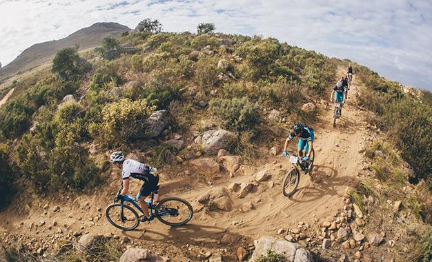 No percurso na etapa final Foto: Ewald Sadie/Cape Epic/Sportzpics