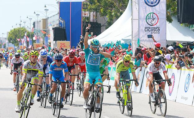 Guardini na vitória final do Tour de Langkawi