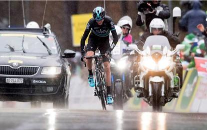 Tour da Romandia: Chris Froome ataca a 40km e vence 4ª etapa; Nairo é o líder